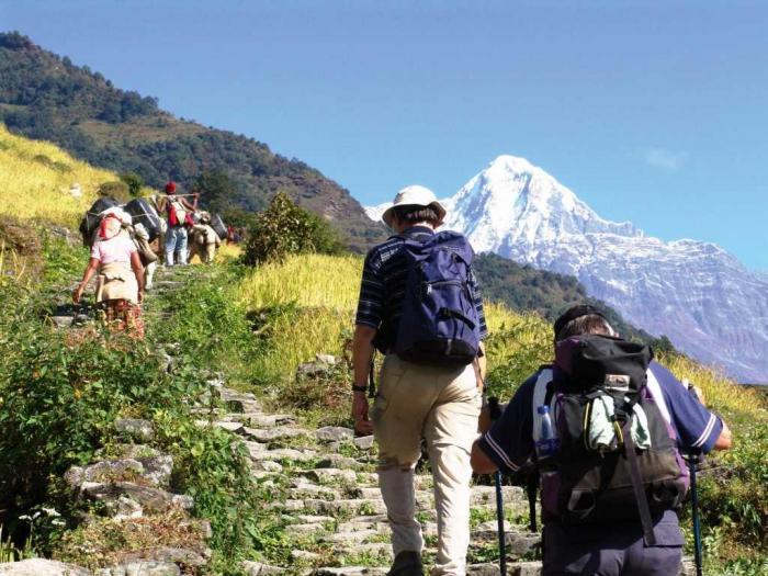 التسلق في النيبال