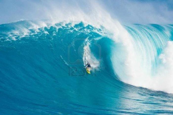 ركوب الامواج في هاواي