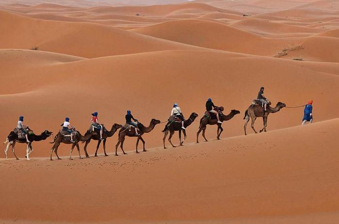 أكتشاف صحراء المغرب