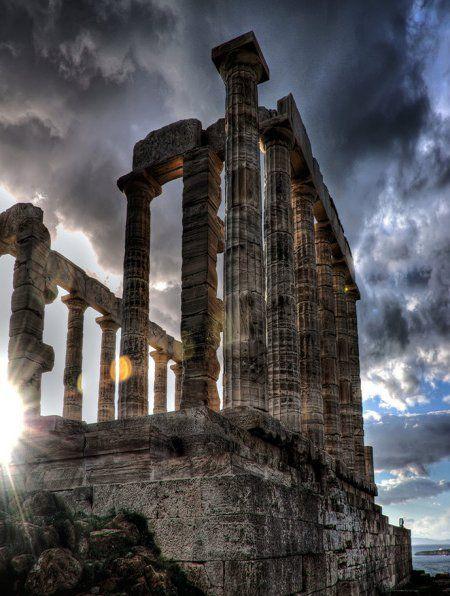 معبد بوسيدون أثينا