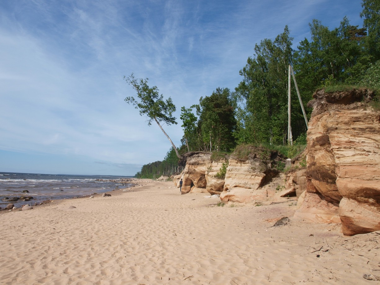 شاطىء ريغا لاتفيا